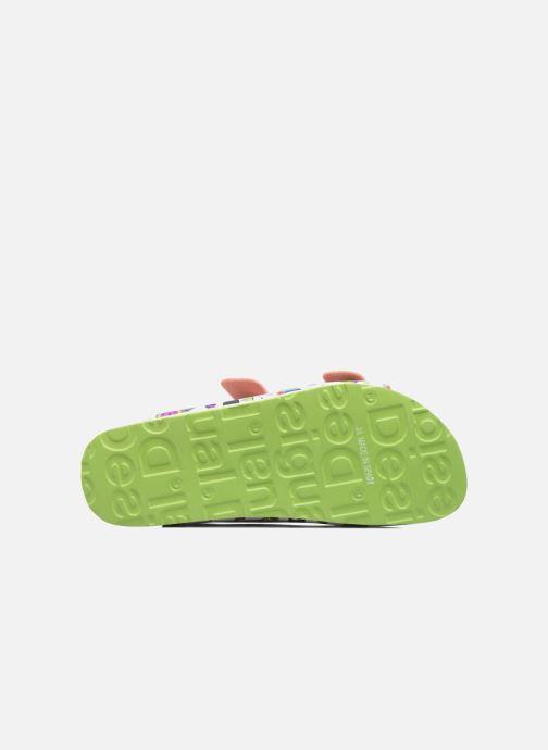 Sandales et nu-pieds Desigual Bio 6 Multicolore vue haut