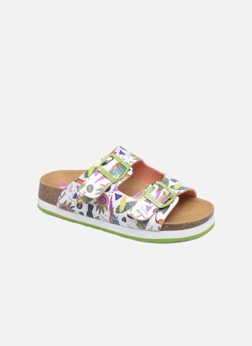 Sandales et nu-pieds Desigual Bio 6 Multicolore vue détail/paire
