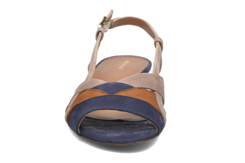 Sandales et nu-pieds Heyraud EDNA Multicolore vue portées chaussures