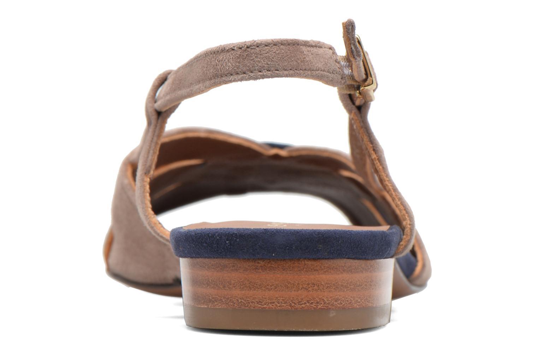 Sandales et nu-pieds Heyraud EDNA Multicolore vue droite