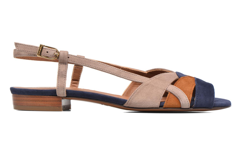 Sandales et nu-pieds Heyraud EDNA Multicolore vue derrière