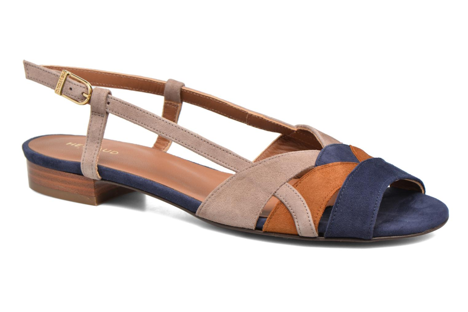 Sandals Heyraud EDNA Multicolor detailed view/ Pair view