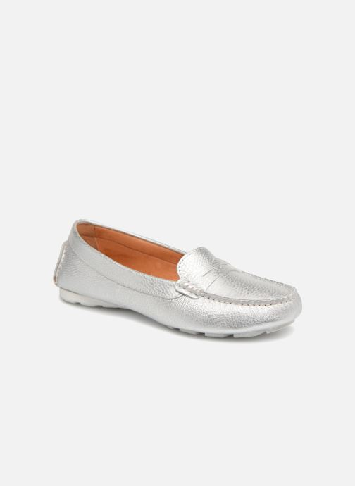 Loafers Heyraud EDWINA Silver detailed view/ Pair view