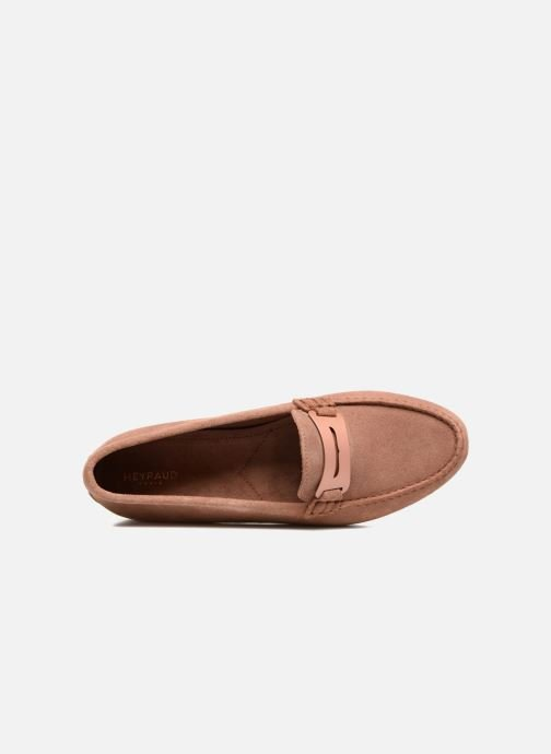 Mocassins Heyraud EDWIGE Roze links