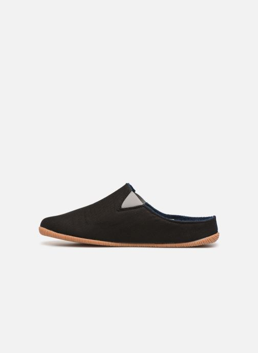 Slippers Giesswein Perkam Black front view