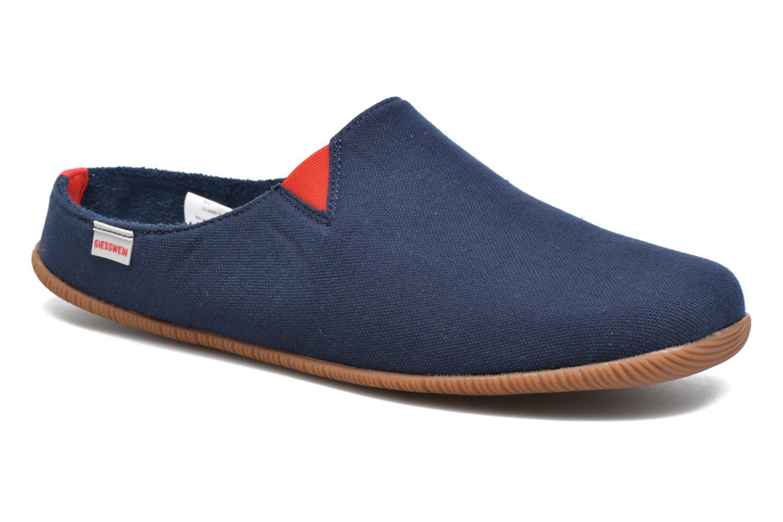 Hjemmesko Giesswein Perkam Blå detaljeret billede af skoene