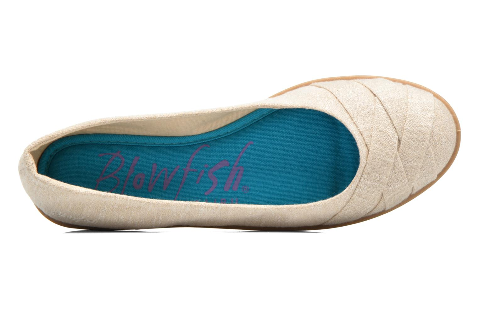 Ballet pumps Blowfish Glo2 Beige view from the left