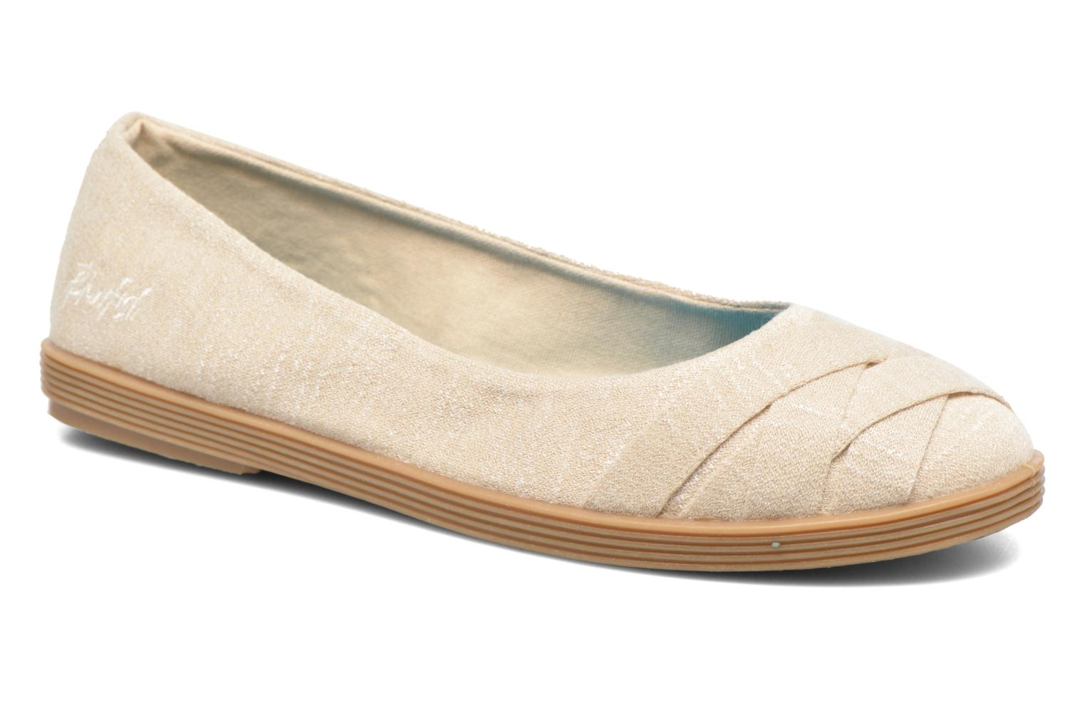 Ballet pumps Blowfish Glo2 Beige detailed view/ Pair view