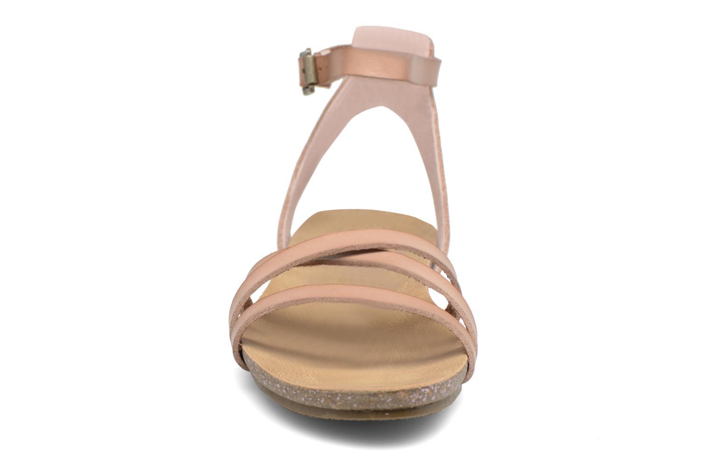Sandales et nu-pieds Blowfish Galie Rose vue portées chaussures
