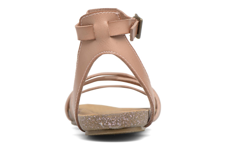Sandales et nu-pieds Blowfish Galie Rose vue droite