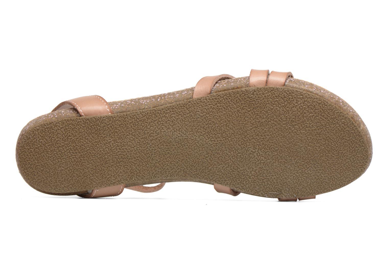 Sandales et nu-pieds Blowfish Galie Rose vue haut