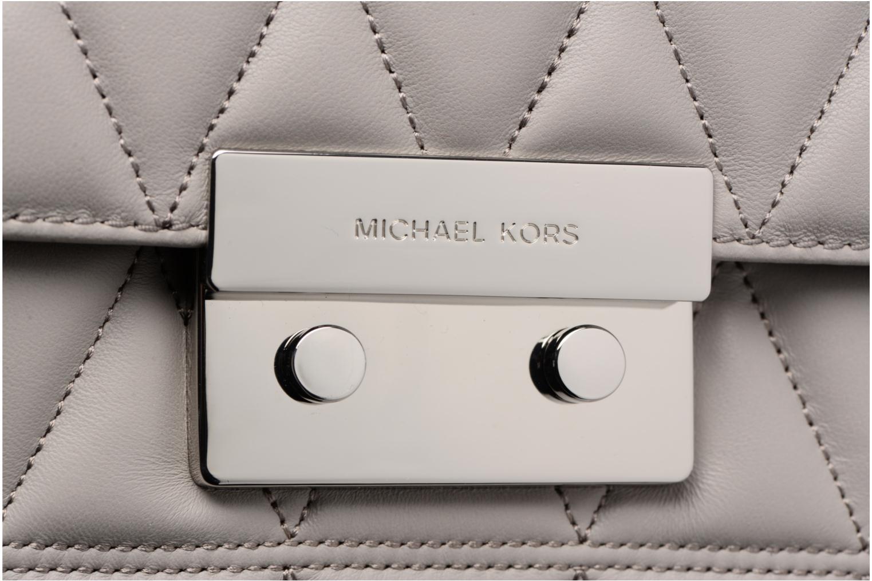 Bolsos de mano Michael Michael Kors SLOAN LG CHAIN SHOULDER Gris vista lateral izquierda