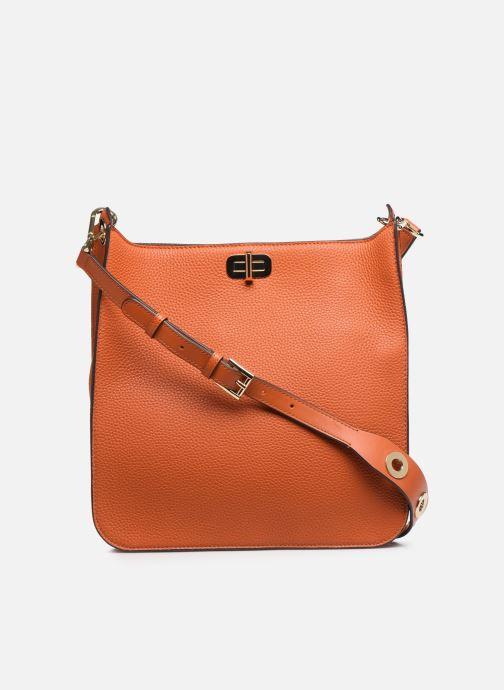 Handtaschen Michael Michael Kors SULLIVAN LG NS MESSENGER orange ansicht von vorne