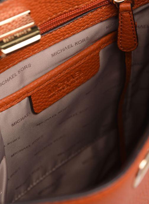 Handväskor Michael Michael Kors SULLIVAN LG NS MESSENGER Orange bild från baksidan