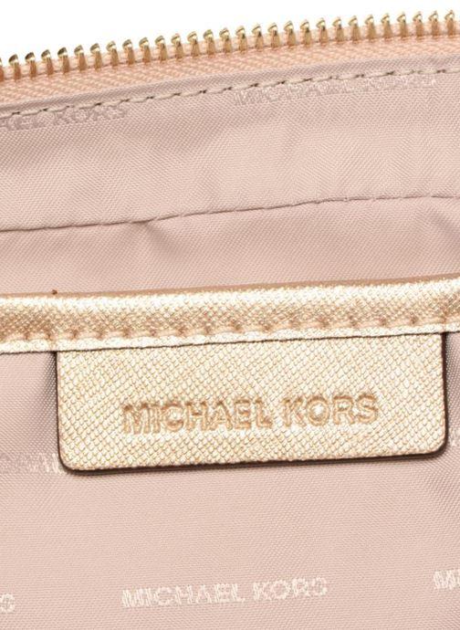 Handtaschen Michael Michael Kors LG EW Crossbody gold/bronze ansicht von hinten