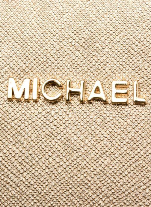 Handtaschen Michael Michael Kors LG EW Crossbody gold/bronze ansicht von links
