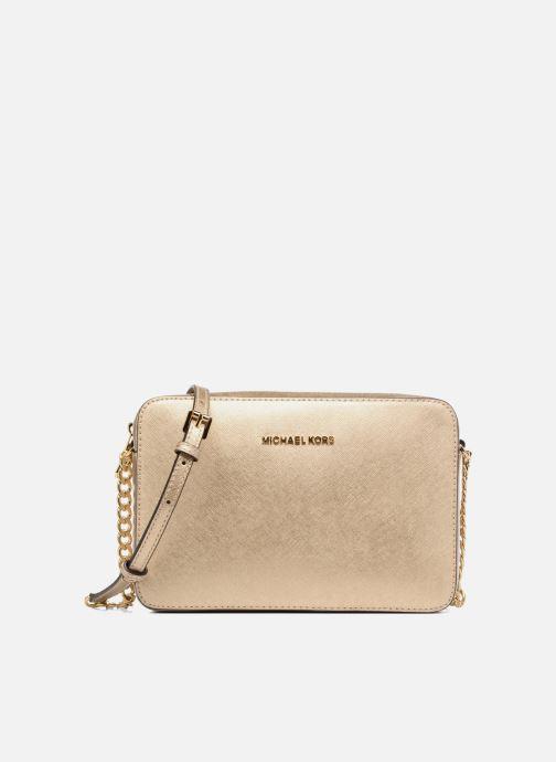 Handtaschen Michael Michael Kors LG EW Crossbody gold/bronze detaillierte ansicht/modell