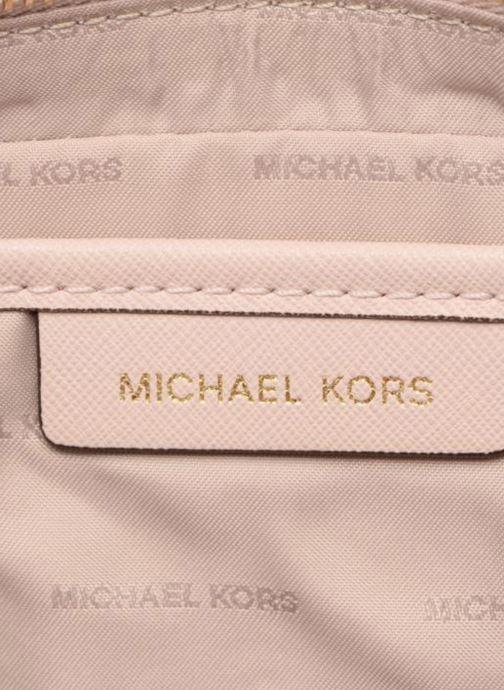 Handtassen Michael Michael Kors LG EW Crossbody Roze achterkant