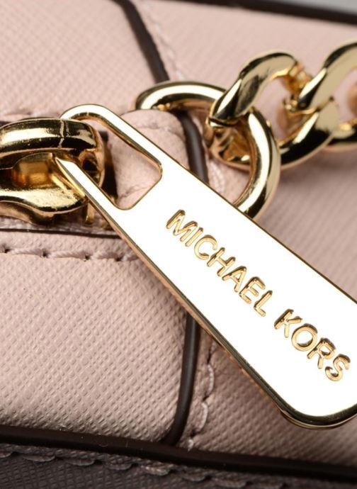 Handtassen Michael Michael Kors LG EW Crossbody Roze links