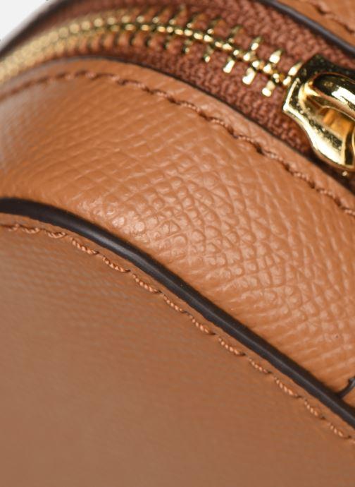 Handtaschen Michael Michael Kors LG EW Crossbody braun ansicht von links