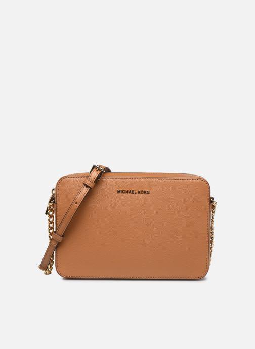 Handtaschen Michael Michael Kors LG EW Crossbody braun detaillierte ansicht/modell