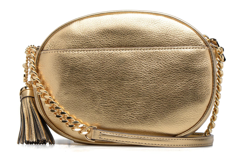 Bolsos de mano Michael Michael Kors GINNY MD MESSENGER Oro y bronce vista de frente