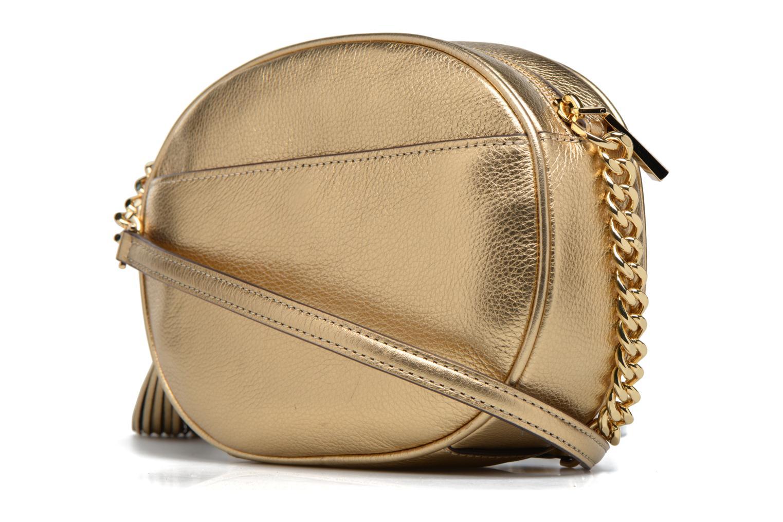 Bolsos de mano Michael Michael Kors GINNY MD MESSENGER Oro y bronce vista lateral derecha