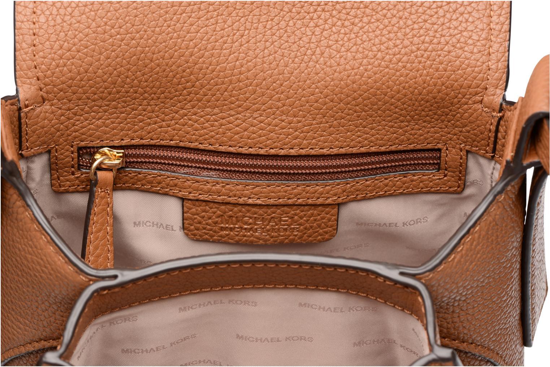 Handtaschen Michael Michael Kors MAXINE MD SADDLE BAG braun ansicht von hinten
