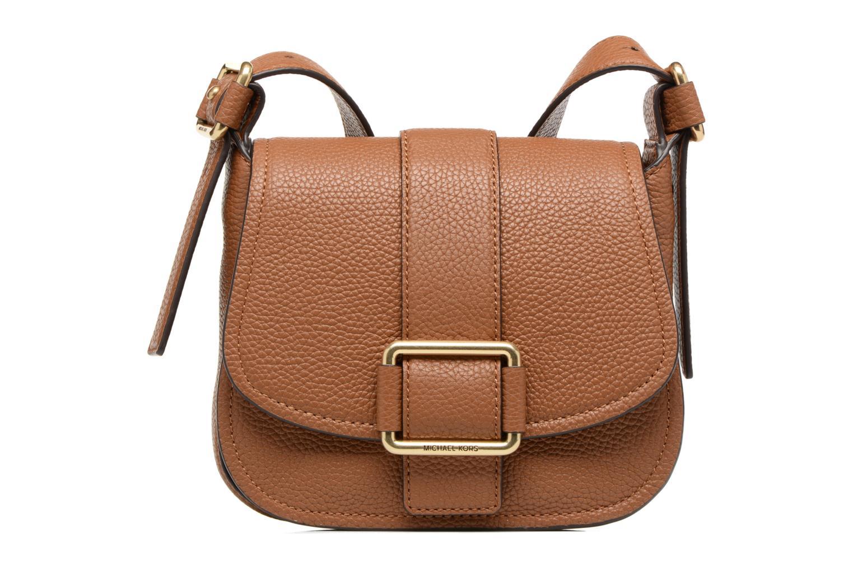 Handtaschen Michael Michael Kors MAXINE MD SADDLE BAG braun detaillierte ansicht/modell
