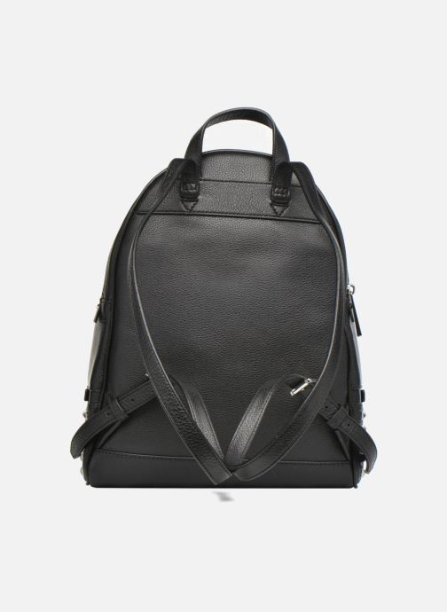 Sacs à dos Michael Michael Kors RHEA ZIP MD STUD BACKPACK Noir vue face
