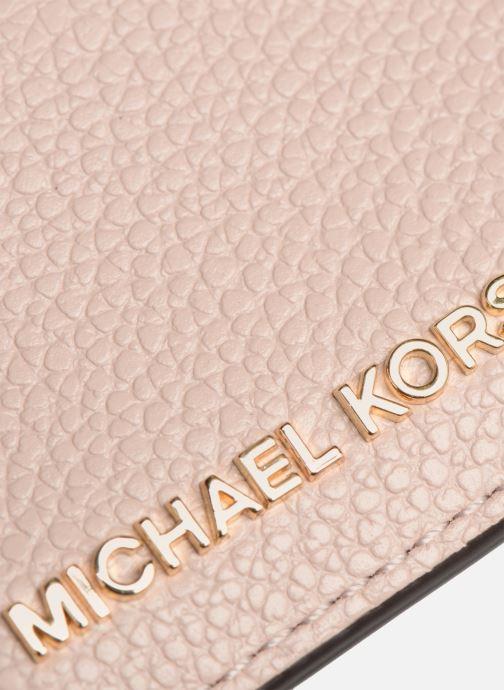 Kleine lederwaren Michael Michael Kors Money Pieces CARDHOLDER Roze links