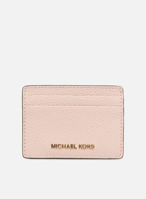 Kleine lederwaren Michael Michael Kors Money Pieces CARDHOLDER Roze detail