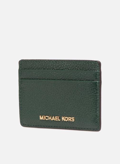 Petite Maroquinerie Michael Michael Kors Money Pieces CARDHOLDER Vert vue portées chaussures
