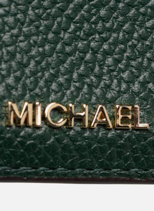 Petite Maroquinerie Michael Michael Kors Money Pieces CARDHOLDER Vert vue gauche