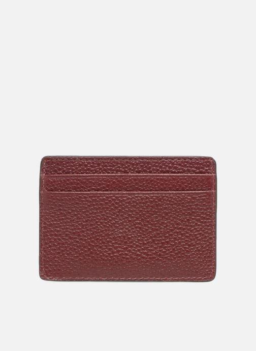 Plånböcker och fodral Michael Michael Kors Money Pieces CARDHOLDER Vinröd bild från framsidan