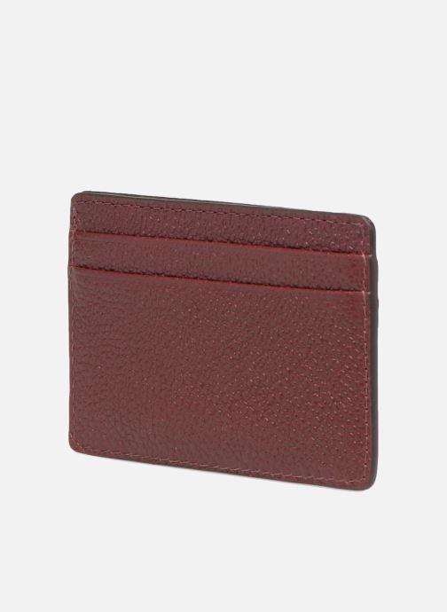 Plånböcker och fodral Michael Michael Kors Money Pieces CARDHOLDER Vinröd Bild från höger sidan