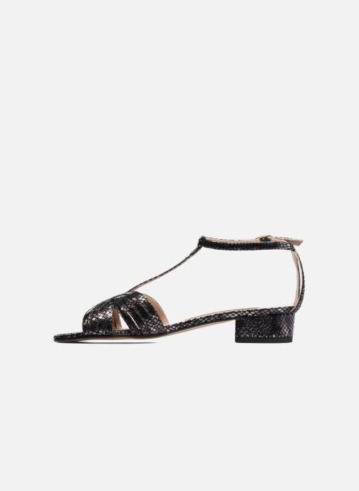 Sandales et nu-pieds Anna Volodia Olga Noir vue face