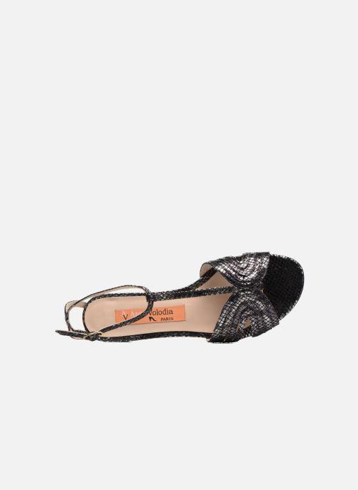 Sandales et nu-pieds Anna Volodia Olga Noir vue gauche