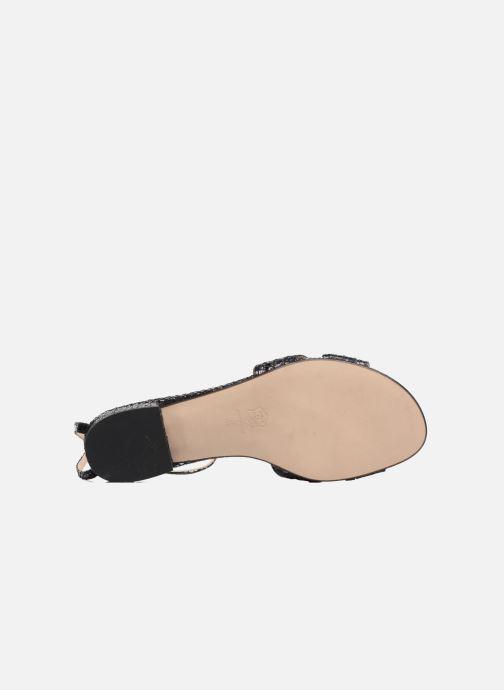 Sandales et nu-pieds Anna Volodia Olga Noir vue haut