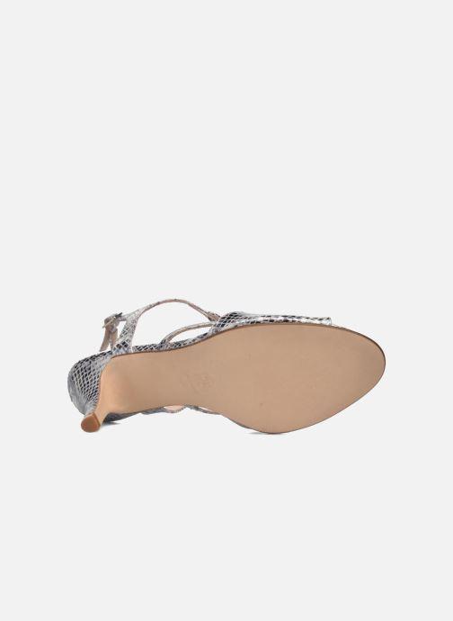 Sandales et nu-pieds Anna Volodia Cassandra Argent vue haut