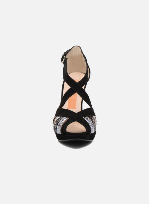 Sandales et nu-pieds Anna Volodia Sonia Noir vue portées chaussures