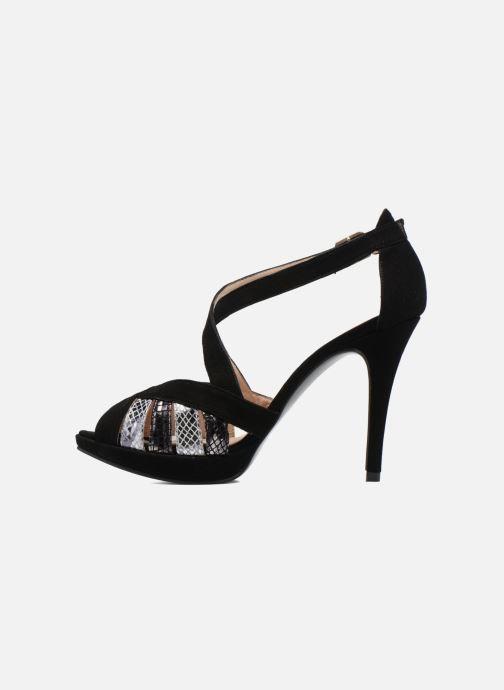 Sandales et nu-pieds Anna Volodia Sonia Noir vue face