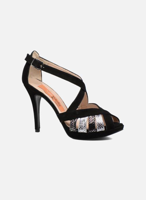 Sandales et nu-pieds Anna Volodia Sonia Noir vue détail/paire