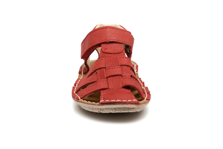 Sandales et nu-pieds El Naturalista Kiri E278 2 Rouge vue portées chaussures
