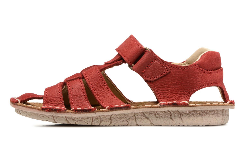Sandales et nu-pieds El Naturalista Kiri E278 2 Rouge vue face