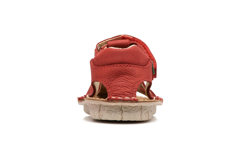 Sandales et nu-pieds El Naturalista Kiri E278 2 Rouge vue droite