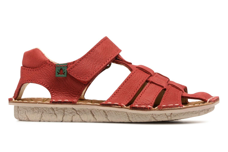 Sandales et nu-pieds El Naturalista Kiri E278 2 Rouge vue derrière