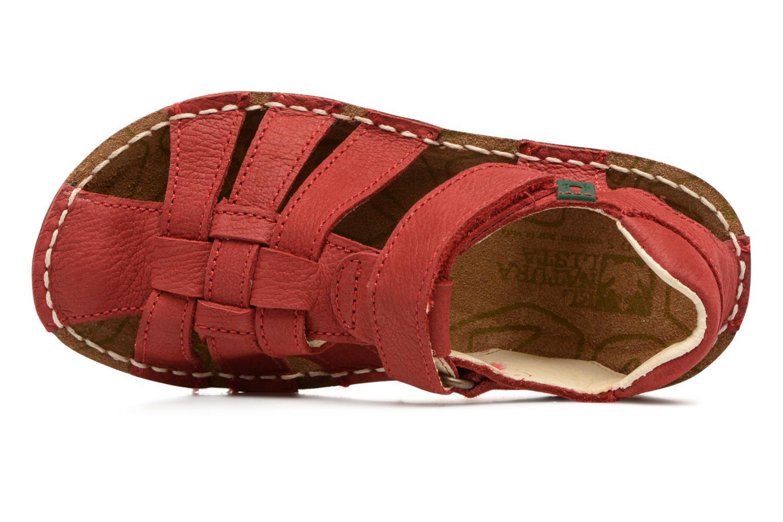 Sandales et nu-pieds El Naturalista Kiri E278 2 Rouge vue gauche