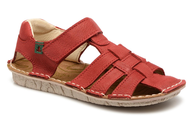Sandales et nu-pieds El Naturalista Kiri E278 2 Rouge vue détail/paire