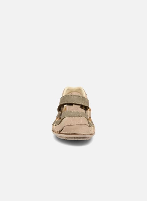 Sandales et nu-pieds El Naturalista Kiri E286 Gris vue portées chaussures